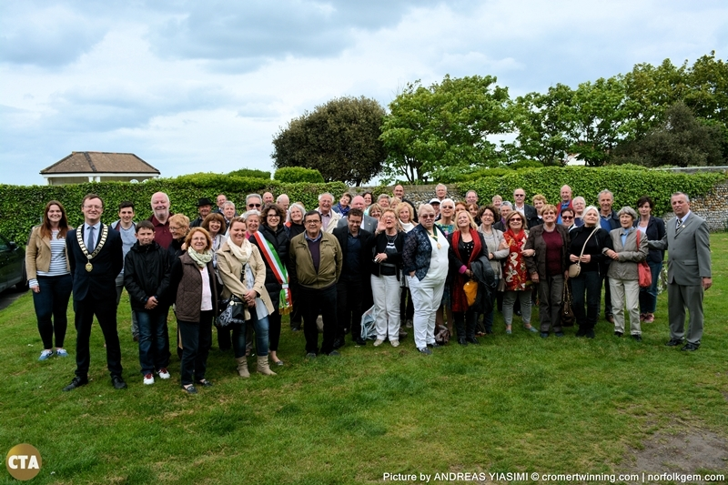 Twinning visit to Cromer picture Andreas Yiasimi