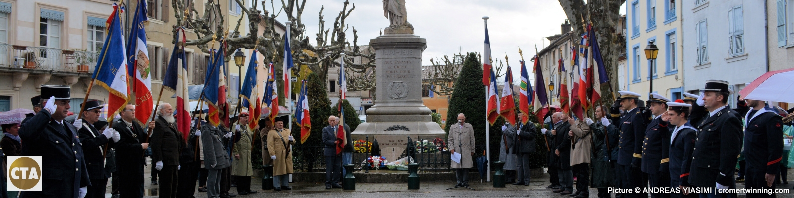 Armistice Day Remembrance Day,  Crest, Drôme